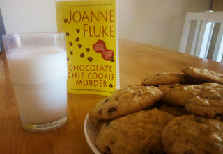 I read Chocolate Chip Cookie Murder by Joanne Fluke a little over a year ago. The novel was just ok, but I was intrigued by the recipes. It just took me a while before I tried one of them...