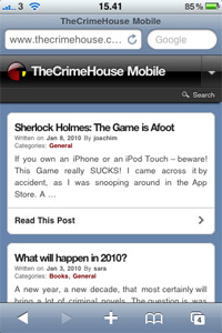 TheCrimeHouse Mobile